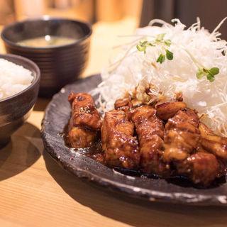 とんテキ定食(豚屋とん一  姫路駅前)
