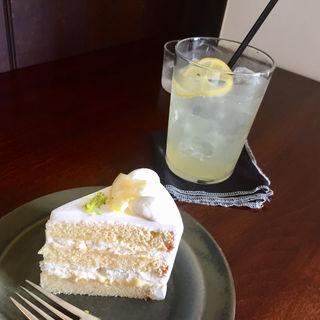 レモンショートケーキ(オクシモロン北浜)