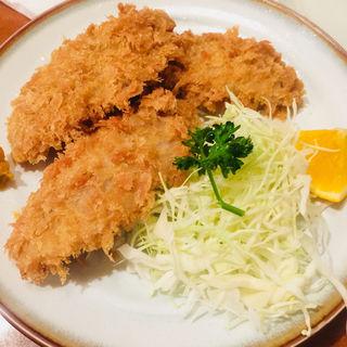 あじフライ定食(並)(食事処 酒肴 水口)