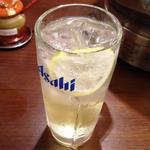 イタリアレモンサワー