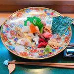 上ちらし(藪sou鮨・旬の魚 (そうそうすししゅんのさかな))