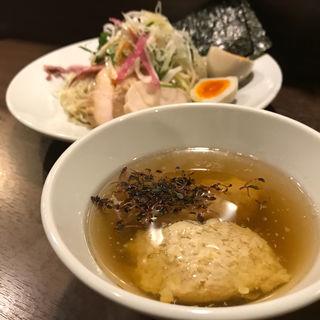限定 名古屋コーチンの淡麗つけ麺(八咫烏)