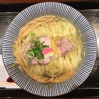 鯛塩らぁ麺(鯛塩そば 灯花 ラゾーナ川崎プラザ店)