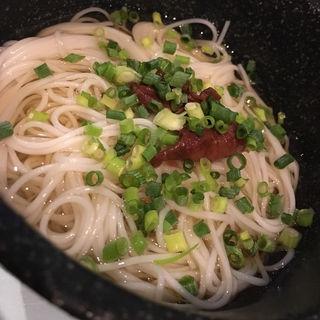 冷製汁素麺(塩梅)
