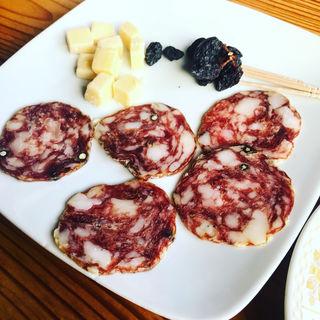 サラミ&チーズ(燕山荘 (エンザンソウ))