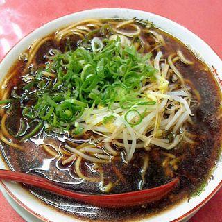 中華そば(肉なし)(新福菜館 本店 (しんぷくさいかん))