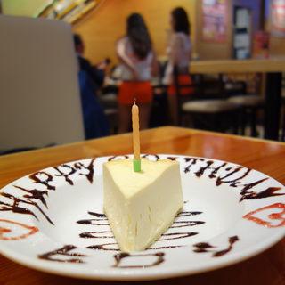 チーズケーキ(HOOTERS 福岡店)