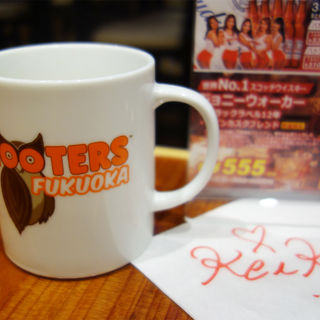 ホットコーヒー(HOOTERS 福岡店)