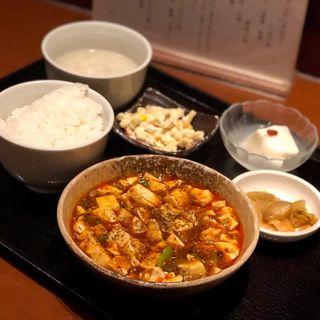 麻婆豆腐ランチ(中国酒家 明元 (チュウゴクシュカ ミンゲン))
