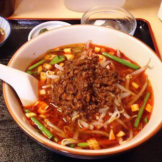 台湾ラーメン+半チャーハン(金麟)