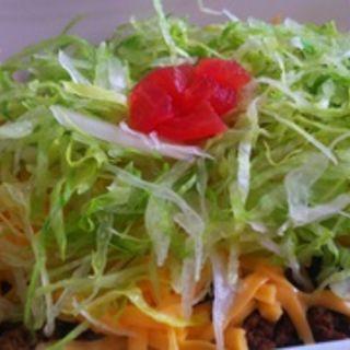 タコライスチーズ野菜(うっしータコライス)