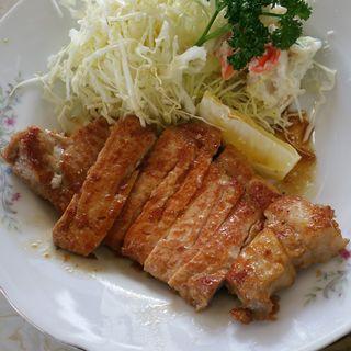 ポークソテーライス(源氏食堂 )
