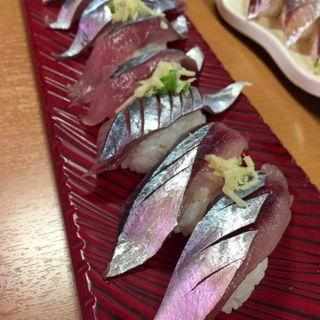 サンマ(回転寿司 若竹丸 )