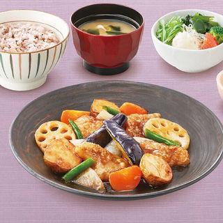 すけそう鱈と野菜の黒酢あん定食(大戸屋 国分寺南口店 )