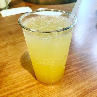 信州りんごのレモンソーダ(トワサンク 上高地店 (trois cinq))