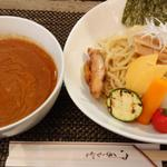 カレーつけ麺 特盛り 太麺(麺屋 波 )