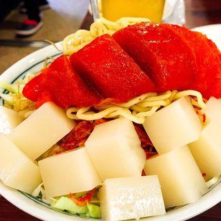 明太チーズもちもんじゃ(もんじゃ近どう 本店)