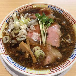サバ中華そば(サバ6製麺所南森町)