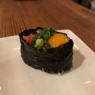 ネギトロうずら(近江牛の肉寿司)(カッシーワ 東通り店 )