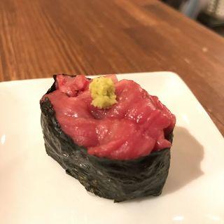 肉軍艦(近江牛の肉寿司)(カッシーワ 東通り店 )