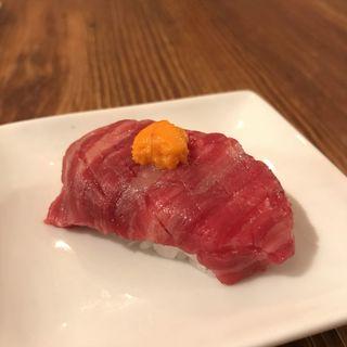 肉寿司(近江牛の肉寿司)(カッシーワ 東通り店 )
