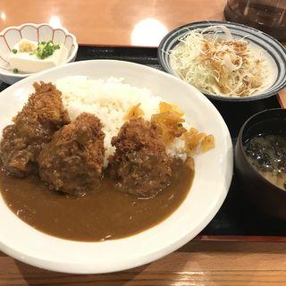 チキンカツカレーライスセット(テング酒場 神田店 )
