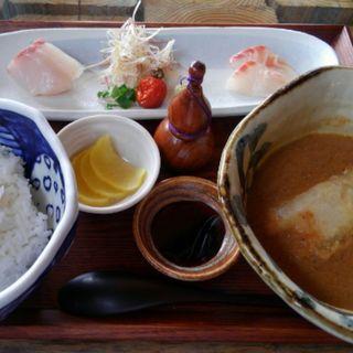 漁師汁定食(江ノ島小屋)