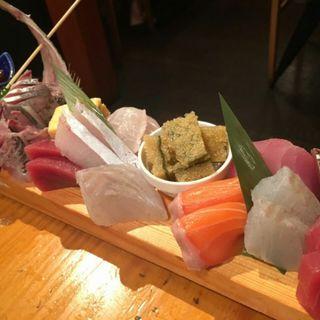 限定魚set(焼魚刺身小鉢)(鳥一代 )