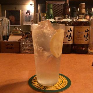 瀬戸内レモンのジントニック