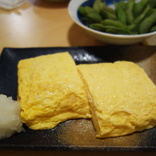 だし巻玉子(生粉蕎麦 玄 姪浜店)