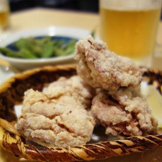 若鶏の唐揚げ(生粉蕎麦 玄 姪浜店)