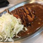 ジャンボチーズカレー+ヒレカツ(カレーのチャンピオン 栄プリンセス店 )