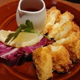 カマンベールのチーズフライ