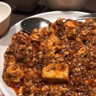 麻婆豆腐定食(龍の子 )