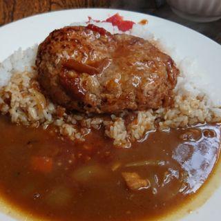 ハンバーグカレー(レストラン喫茶 ぷらむ)