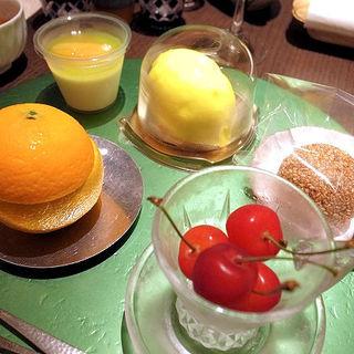 デザート5種(さ行)