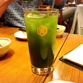 青汁割り(栃木屋 )