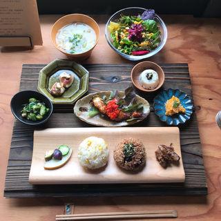 こかげプレート+サラダ(kokage cafe)