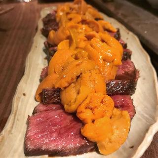 肉と魚のコース