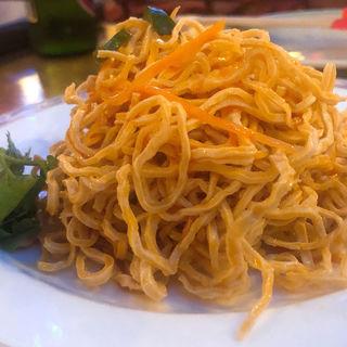 干豆腐のラー油和え(中国茶房8 恵比寿店 (チャイニーズカフェ・エイト))
