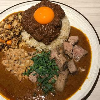 辛口 国産豚煮込み キーマ (吉田カレー  )