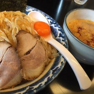極煮干し醤油つけ麺/大盛り/辛み(ラーメン ツバメ )