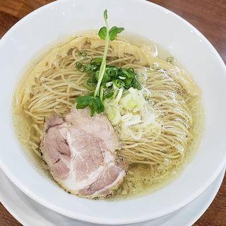 魚介中華そば(塩)(安居)