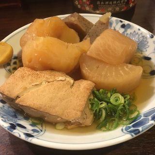 おでん、大根、じゃがいも、焼き豆腐、コンニャク(磯ノ海 )