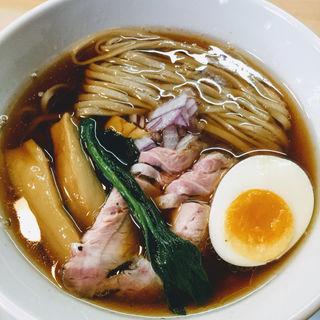 鶏と魚の醤油そば(ガチ麺道場 )