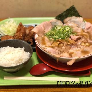 唐揚げ定食(珍遊 一乗寺本店  (ちんゆう))