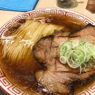 稲庭中華そば・肉(醤油)