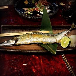 秋刀魚の塩焼き(やまや )