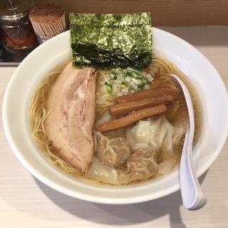 白ワンタンめん(ソイ ソース ラーメン 醤屋)