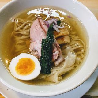 鶏と魚の塩そば(ガチ麺道場 )